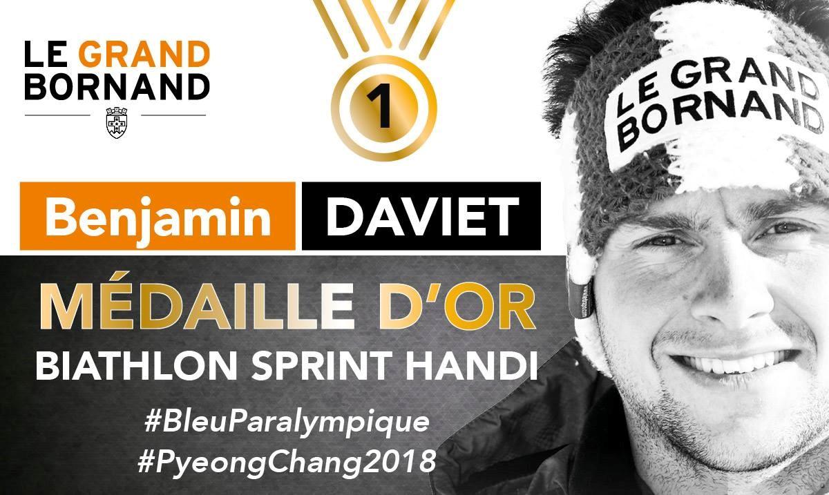 JO 2018 Or Biathlon sprint