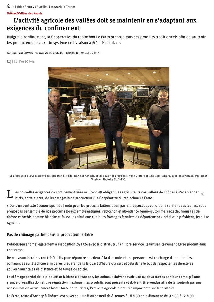 SOUTIEN DES PRODUCTEURS LOCAUX