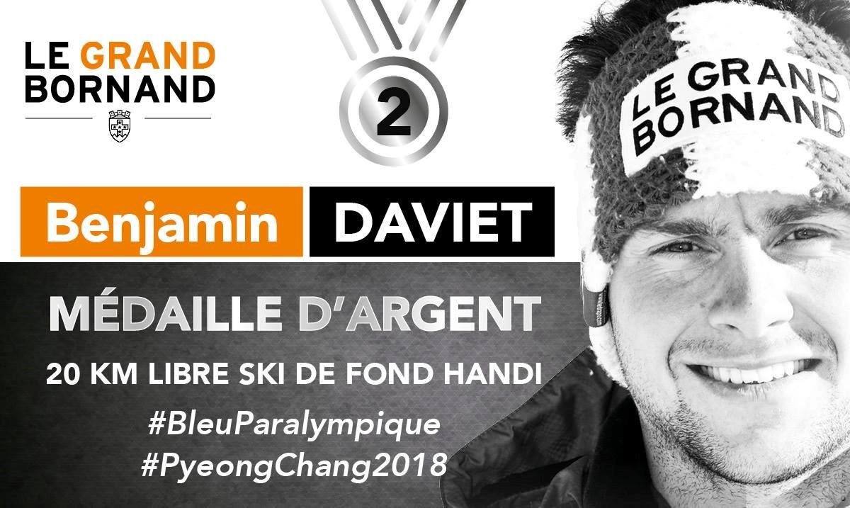 JO 2018 Argent 20km libre