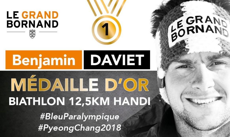 JO 2018 Or Biathlon 12,5km