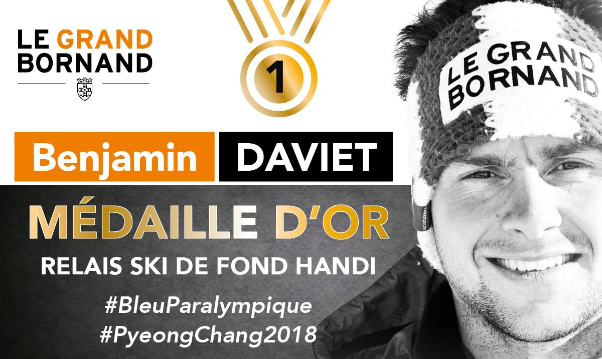 JO 2018 Or relais ski de fond